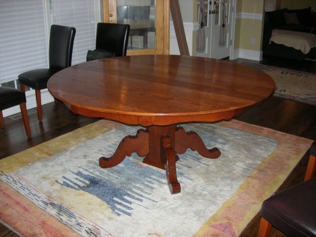 How To Refinish Old Dining Room Table